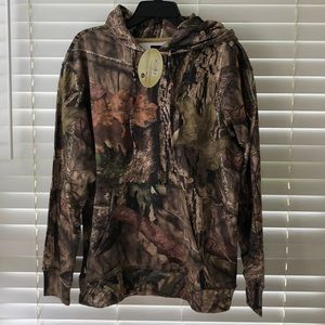 Mossy Oak  camouflage Large hoodie large NWT!